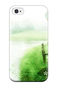 Anti-scratch And Shatterproof Artistic Abstract Artistic Phone Case For Iphone 4/4s/ High Quality Tpu Case