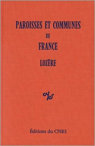 Livres gratuits Paroisses et communes de France : Dictionnaire d'histoire administrative et démographique : Lozère epub, pdf