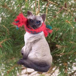 Amazon.com: Siamese Cat Christmas Ornament: Home & Kitchen