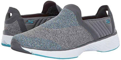 Skechers Go Walk Sport Supreme Slip On Zapatillas de paseo para mujer Gris/Azul