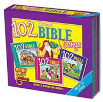 102 Bible Songs 3 Cd Set by Twin Sisters Productions