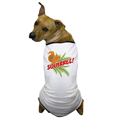 CafePress Squirrel - Dog T-Shirt, Pet Clothing, Funny Dog (Chevy Chase Christmas Vacation Costume)