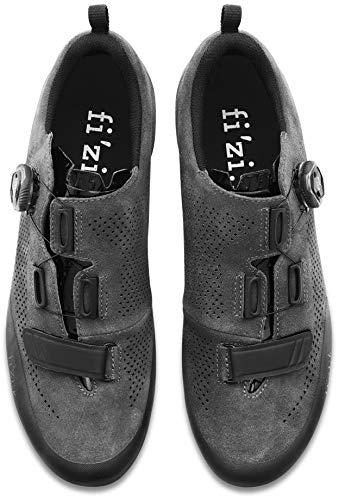 Fizik Terra X5 Suede MTB Schuhe anthrazit schwarz 2019 2019 2019 Rad-Schuhe Radsport-Schuhe d4d8aa
