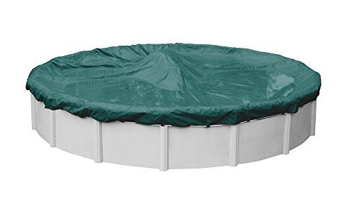 Supreme Plus Winter Pool Cover for Round Above Ground Swimming Pools, 24-ft. Round Pool - Robelle 3924-4