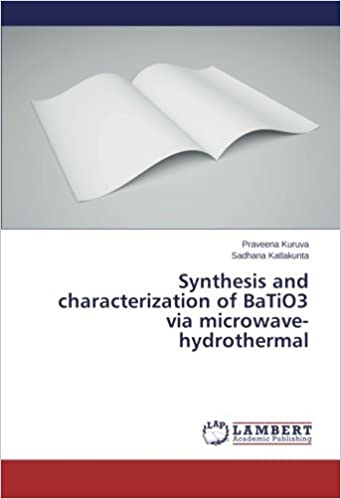 Synthesis and characterization of BaTiO3 via microwave-hydrothermal by Praveena Kuruva (2014-09-22)