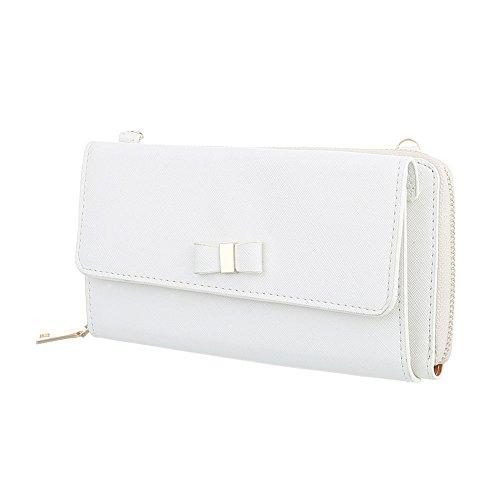 Ital-Design, Poschette giorno donna bianco bianco