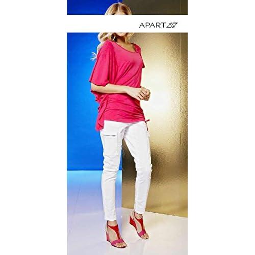 Apart Vaqueros Opaco Cheap Mujer Para Cargo Blanco Fashion dqxwzP