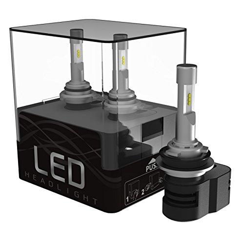 FANTELI H11 H8 H9 LED Headlight Beam Bulb 300W 30000LM White 6000K High Power 2-Sided Total 6PCS CSP LED Chips