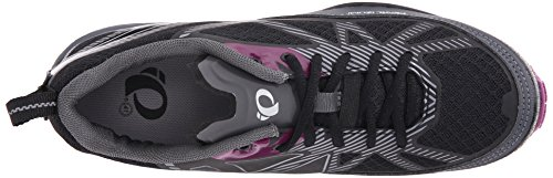 Pearl Izumi Women's W X-ALP Seek VII Cycling Shoe, Black/Belgian Block, 37 EU/6 B US