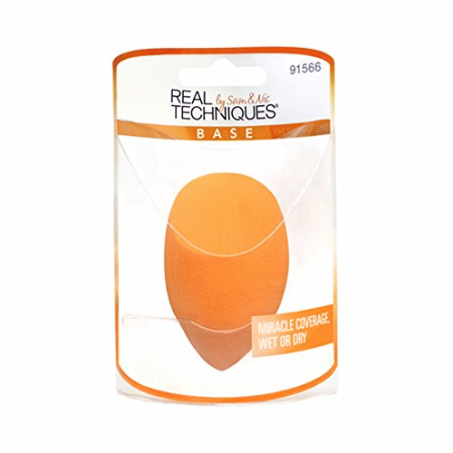 Real Techniques Miracle Complexion Sponge, color Naranja