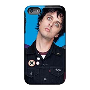 Perfect Cell-phone Hard Cover For Iphone 6plus With Support Your Personal Customized Beautiful Green Day Band Pattern TammyCullen
