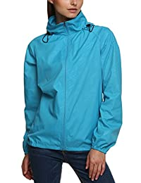 Zeagoo Lightweight Waterproof Active Outdoor Hoodie Coat Cycling Running Sport Jacket