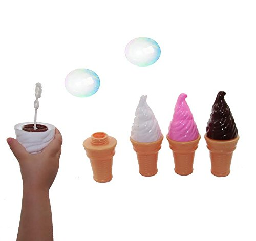 ice cream cone bubbles - 3