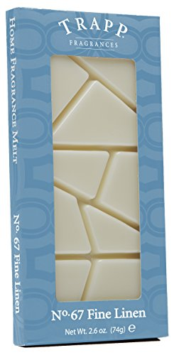 Trapp Candles Home Fragrance Melt, No. 67 Fine Linen, 2.6-Ounce