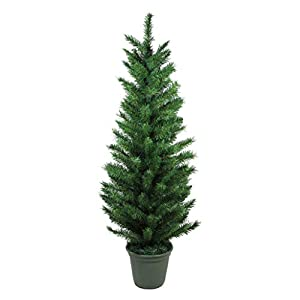 Northlight 4' Potted Virginia Pine Artificial Walkway Christmas Tree - Unlit 15