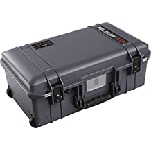 Pelican Air 1535 Travel Case - Carry On Luggage (Gray) (Renewed)