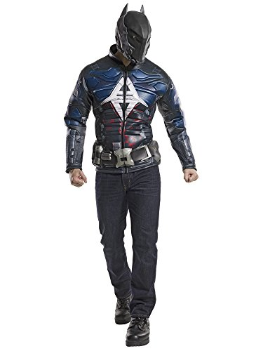 Rubie's Costume Co DC Comics Men's Arkham Knight Muscle Chest Costume Top, Multi, X-Large -
