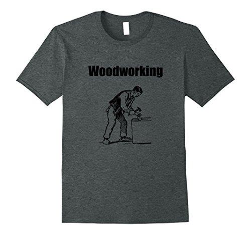 penter Skills Craft Hobby Working T-Shirt XL Dark Heather ()