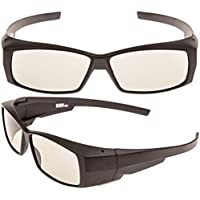 Better quality passive 3D glasses, for LG, Panasonic, Vizio and all Passive 3D TVs & RealD 3D Cinema glasses (pack of 2)