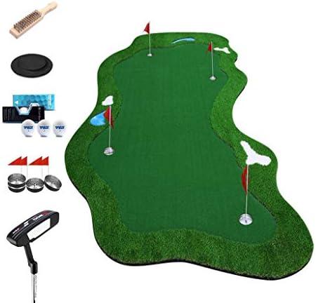 屋内ゴルフ、人工グリーン、ゴルフパッティンググリーンシステムプロフェッショナルプラクティス、家庭用、オフィス用、屋外用の距離トレーニングマットギフト