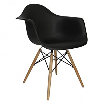 Chaise Design DAW Noir