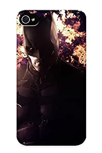 Awesome Design Batman Arkham Origins Hard Case Cover For Iphone 4/4s(gift For Lovers)