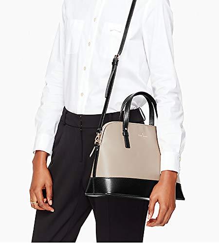 Small Grand Rachelle Frosting Street Spade Black Kate Mouse Handbag CqwxtAFFR5