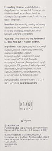 Obagi360 Exfoliating Cleanser, 5.1 fl. oz.