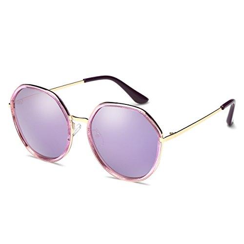 de conducción hombres marco ZHIRONG unisex sol de mujeres Purple sol de Color polarizadas para Azul Gafas de vintage Gafas pesca metal xXZfZqwP0
