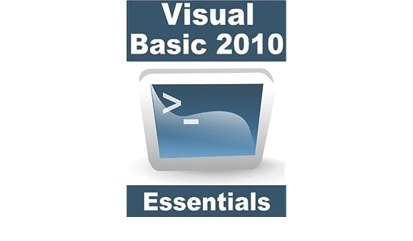 VISUAL BASIC 2010 ESSENTIALS EBOOK DOWNLOAD