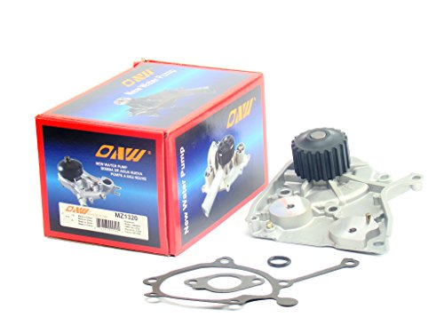 OAW MZ1320 Engine Water Pump for Mazda 626 MX6 B2200 & Ford Probe F2 FE2 2.2L 1987 - 1993 (Mazda 626 Water Pump)