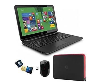 HP 15-f014wm Notebook Bundle/ AMD Quad-Core A8-6410 APU/15  Touchscreen/750GB HD/4GB DDR3L SDRAM
