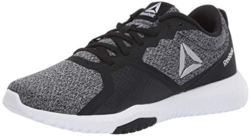 Reebok Women's Flexagon Force Cross Trainer Black/True Grey/White 11 D US
