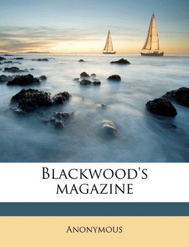 Download Blackwood's magazin, Volume 6 pdf epub