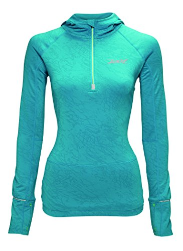 ZOOT Women's Ultra Megaheat Hoodie, Splash, - Gomez Bike Javier