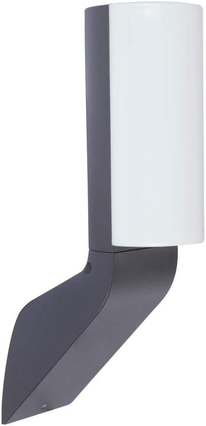 LUTEC BATI - Lámpara LED de pared para exteriores (14 W), color antracita: Amazon.es: Iluminación