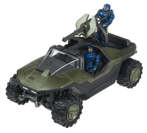 Halo 2 Warthog - Halo 2 Series 2 Warthog with Blue Assault Team