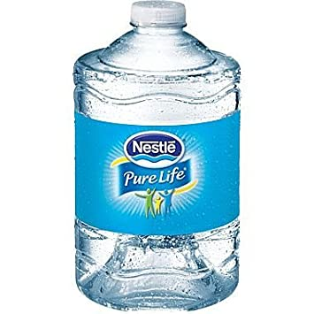 Gallon Jug Of Nestle Pure Life Purified Water For Home Or