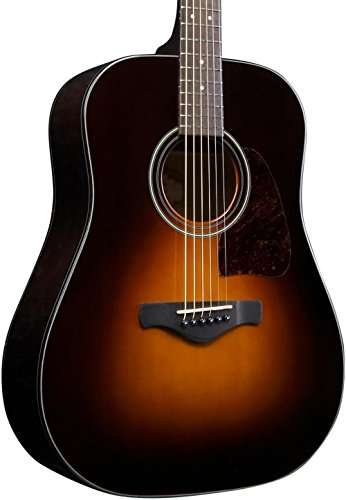 Ibanez Artwood AW4000-BS Dreadnought Acoustic Guitar Brown Sunburst