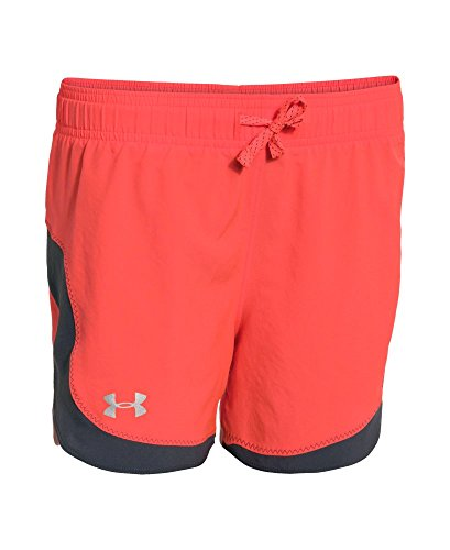Under Armour Girls' UA Stunner Short Large AFTER BURN by Under Armour