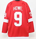 Gordie Howe Autographed Detroit Red Wings Jersey PSA/DNA COA