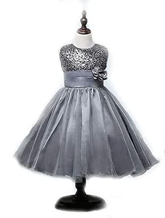 Princess dress summer flower dress evening dress for girls