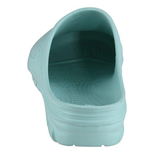 Schuhmarketing Verde Verde Donna HSM Zoccoli Verde gwqB11d