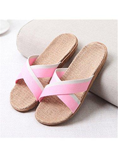 Slippers Slipper Flat Slippers Color 19 22 New Beach Woman Jwhui Bedroom Plus Gradient Indoor Home Summer Shoes House Size Women Women wq0xxHtpZ