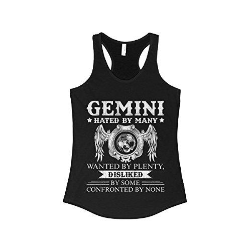 Doryti Gemini confronted Woman's Tank -Top Tee - Gemini Womens Top