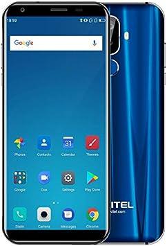 OUKITEL K5-5.7 Pulgadas HD (relación 18: 9) Android 7.0 4G Smartphone, 1.5GHz Quad Core 2GB + 16GB, batería 4000mAh, cámaras triples (5MP + 2MP + 16MP): Amazon.es: Electrónica