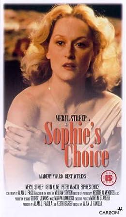 Bildresultat för Sophie's Choice vhs