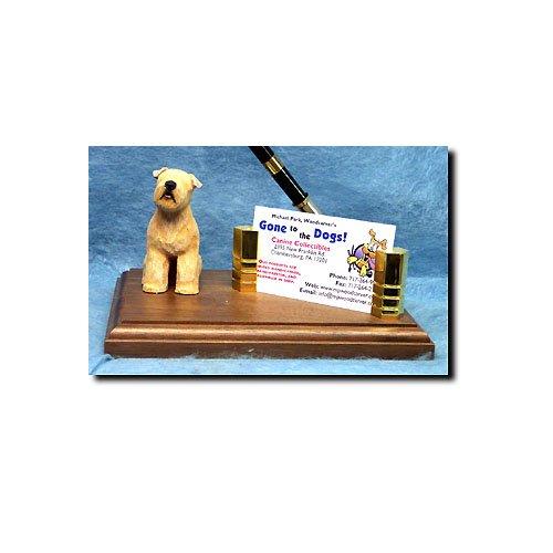 (Michael Park Soft-Coated Wheaten Terrier Desk Set)