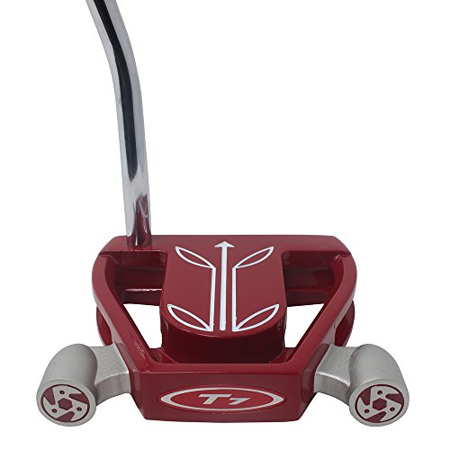 T7 Twin Engine Red Mallet Golf Putter Right Handed with Alig