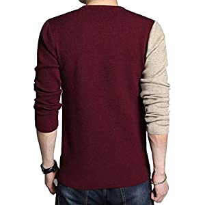 EYEBOGLER Men's Solid Regular Fit T-Shirt